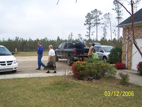 Trinity Custom Homes - Hurricane Katrina relief trip